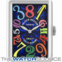 Franck Muller Crazy Hours White gold 32mm Blue Arabic numerals United Kingdom, Hemel Hempstead, Hertfordshire