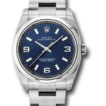 Rolex Oyster Perpetual 34 Steel Blue United States of America, New York, NY