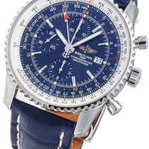 Breitling Navitimer World Blue Dial A24322