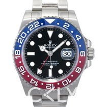 Rolex GMT-Master II Black/18k white gold Ø40mm - 116719BLRO