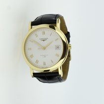 Longines Flagship Heritage Yellow gold 35mm White Roman numerals United Kingdom, Leicester