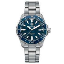 TAG Heuer WAY111C.BA0928 Stal 2018 Aquaracer 300M 41mm nowość