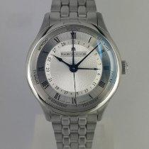 Maurice Lacroix Masterpiece Cinq Aiguilles Steel 40mm Silver Roman numerals