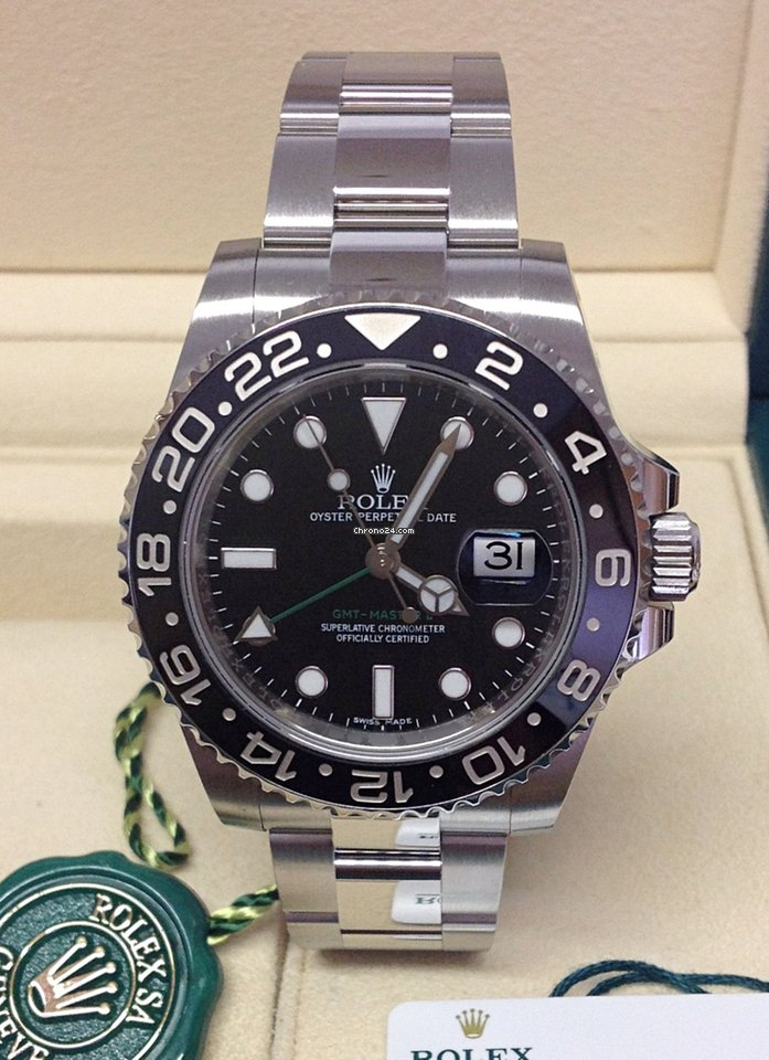 16a11dabec7 Rolex GMT-Master II Black Ceramic - Box   Papers 2017 for Rs. 786