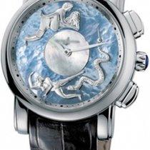 Ulysse Nardin Hourstriker новые Автоподзавод Часы с оригинальными документами и коробкой 6119-103/P0-P2