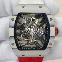 Richard Mille Carbon 39.70mm Handaufzug RM27-02 neu