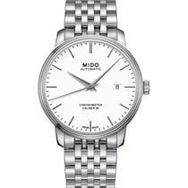 Mido Baroncelli III M027.408.11.011.00 New Steel 40mm Automatic