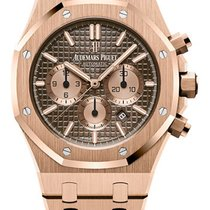 Audemars Piguet Royal Oak Chronograph Rose gold 41mm Brown No numerals United States of America, Florida, MIAMI