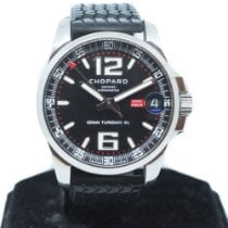 Chopard pre-owned Automatic 44mm Black Sapphire crystal 10 ATM