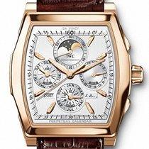IWC Rose gold Automatic Silver pre-owned Da Vinci Perpetual Calendar