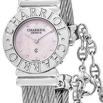 Charriol St-Tropez new Quartz Watch with original box and original papers 028CC.540.462