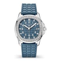 Patek Philippe Aquanaut Steel 35.6mm Blue Arabic numerals United States of America, New York, New York