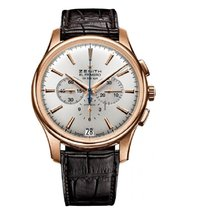 Zenith Captain Chronograph Rose gold Silver United States of America, Florida, North Miami Beach
