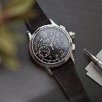 Patek Philippe Grand Complications (submodel) Patek Philippe Split-Seconds Chronograph 5370P platinum 2018 rabljen