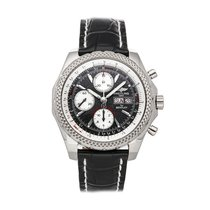 Breitling Bentley GT Oro blanco 46mm Gris Sin cifras