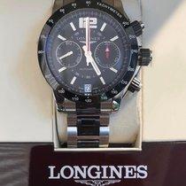 Longines Admiral nouveau Remontage automatique Chronographe Montre avec coffret d'origine et papiers d'origine L3.667.4.56.7