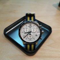 Tissot Quickster occasion 42mm Argent Chronographe Date Textile