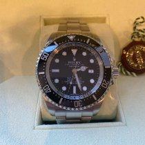 Rolex Sea-Dweller Deepsea Steel 44mm Black No numerals United Kingdom, Richmond