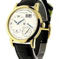 A. Lange & Söhne 101.022 Lange 1 in Mens Mechanical in Yellow...