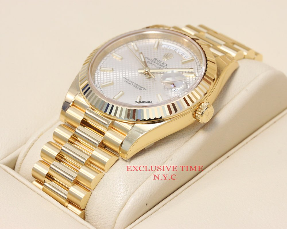 63ed853820fb Rolex Day Date Yellow Gold 40mm 228238 NEW MODEL UNWORN for  28