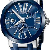 Ulysse Nardin Executive Dual Time Steel Blue United States of America, New York, Brooklyn