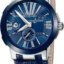 Ulysse Nardin Executive Dual Time new Automatic Watch with original box 243-00-43