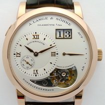 A. Lange & Söhne Red gold Manual winding pre-owned Lange 1