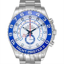 Rolex Yacht-Master II Staal 44.00mm Wit