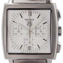 TAG Heuer Monaco Steel 38mm Silver United States of America, California, West Hollywood