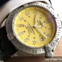 Breitling Superocean Diver Automatic Automatik Yellow Dial