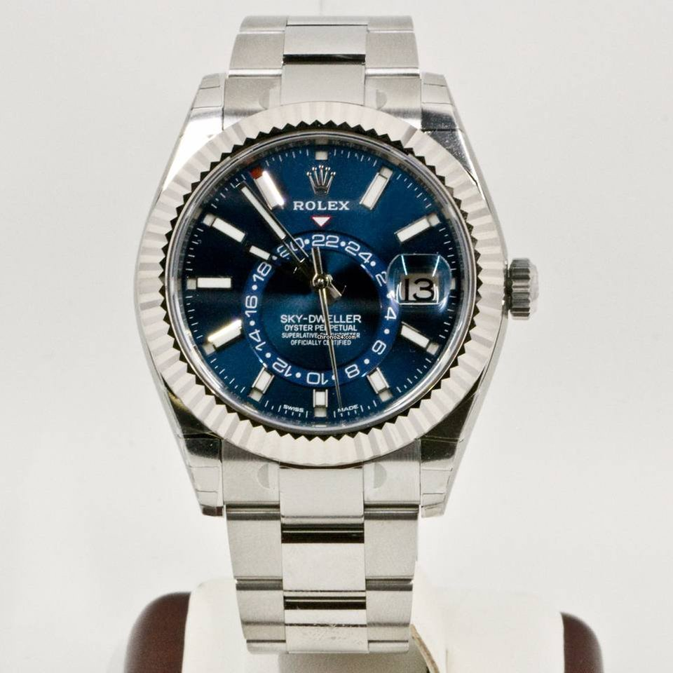 82916618cd3 Rolex Sky-Dweller 326934 Blue Dial Newest Edition 2017 Box Papers for   22