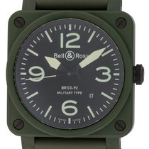 Bell & Ross : BR 03-92 Military Ceramic :  BR0392-CERAM-MI...