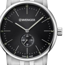 Wenger Steel 44mm Quartz 01.1741.105 new