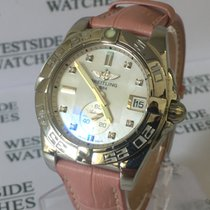 Breitling Galactic  36 - Mother of Pearl - Diamond Set - New...