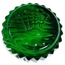 Rolex Green Crystal Salviati Triplock Crown Paperweight