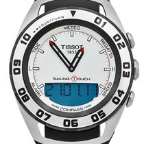Tissot Sailing-Touch Acero 45mm Blanco Sin cifras