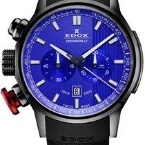 Edox Titanio Cronógrafo nuevo Chronorally