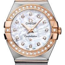 Omega Constellation Gold/Steel 27mm Mother of pearl
