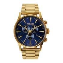 Nixon Reloj NIXON Sentry hombre dorado