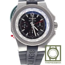 Breitling Bentley GMT Titanium 45mm Black No numerals