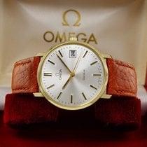 Omega Gold Watch 14K cal.1030 - 1974 + BOX