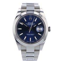 Rolex Datejust 126300 Blue Dial