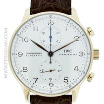 IWC 18k rose gold Portuguese Chronograph