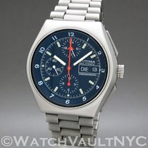 Tutima 43mm Automatic pre-owned Military Silver