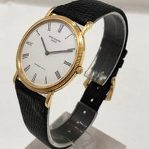 Patek Philippe Calatrava Yellow gold 32mm White Roman numerals