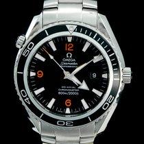 Omega 2200.51.00 Stahl 2011 Seamaster Planet Ocean 45mm gebraucht