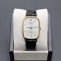 Rolex Cellini Zuto zlato 26mm Srebro