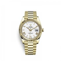 Rolex Day-Date 40 Yellow gold 40mm White United States of America, Florida, Miami