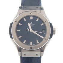 Hublot Steel Quartz Blue 33mm new Classic Fusion Blue