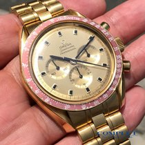 Omega Oro amarillo Cuerda manual usados Speedmaster Professional Moonwatch